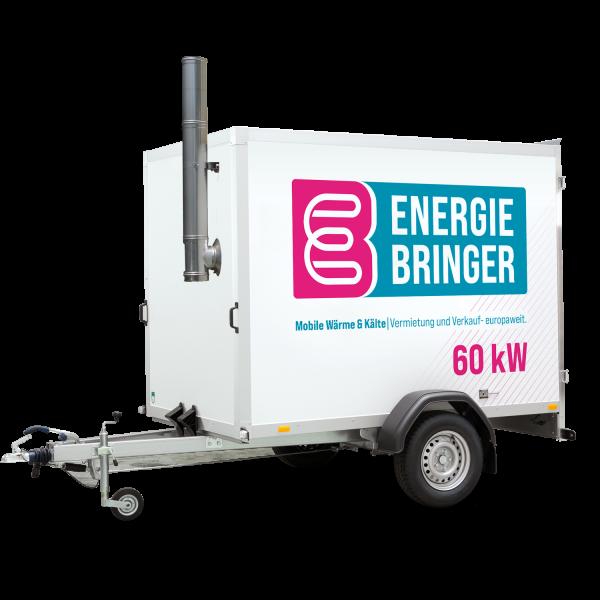 Mobile Heizzentrale Typ: HZ 60 inkl. Warmwasserbereitung